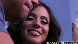 Brazzers - Mommy Got Boobs -  Head and Breakfast scene starring Ariella Ferrera and Rocco Reed