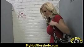 Gloryhole blowjob interracial amateur 7