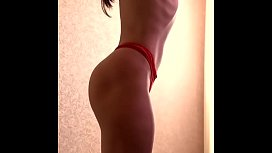 Perfect russian fitness athlete shows how to thin your waist xxx image