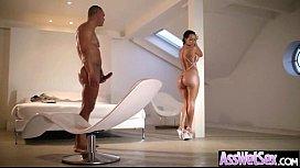 (franceska jaimes) Hot Girl With Big Round Oiled Butt Love Anal Bang movie-13