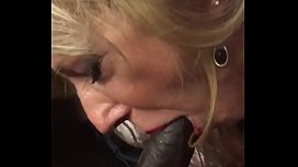 French MILF Marina Beaulieu having sex with BBC in front of her husband