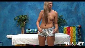 Sexy stripped massage