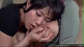 Busty Girls Fucking in Japanese Bar
