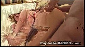 Sexy Milf fucks on Big Black Cock in Mature Interracial Video