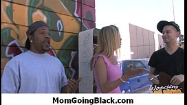 Black monster cock fucks my mommys pussy 24