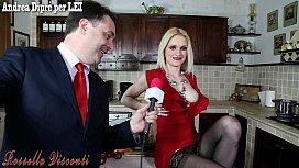 Rossella Visconti SEX IN THE KITCHEN con Andrea Dipr&egrave