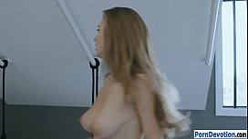 Busty woman Lena Paul pussy creampied