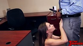Cassidy Klein Is An Office Slut Who Loves All BBC