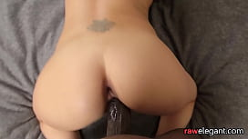 Pulled euro beauty getting her ass fucked