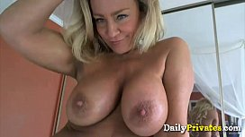 Ultimate sexy blond milf Ginger Todd big tits