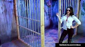 Govt Agent Its Cleo Tickled By Lesbo Villain Saharra Huxly!