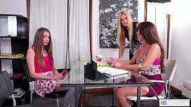 MOMMY'_S GIRL - My Daughter is lesbian! - India Summer, Reena Sky and Elena Koshka