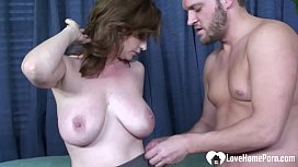 Incredible MILF loves a good hard pounding