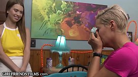 Panty Sniffing MILF Wants Taste Of Real Teen Pussy