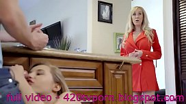 FUCKING MY STEPMOM WITH HER DAUGHTER