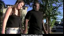 Hardcore interracial pussy fuck 16