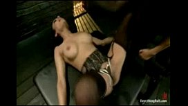 Nasty anal fetish game for a new girl