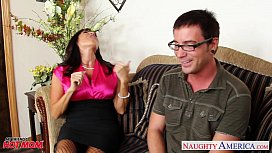 Lovely mom Tara Holiday fucking a big dong