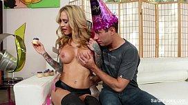 Sarah Jessie Birthday Fuck