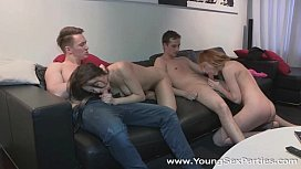 Young Sex Parties - Fucking welcome to group sex Renata, Selena Stuart