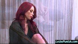 Hot Lesbians (janice&amp_monique) Play Hard In Punish Sex Scene Using Toys vid-18