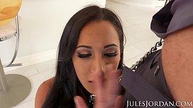 Jules Jordan - Amia Miley Is Jules Jordan's Slut Puppy In 4K