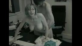Wife fucked at office while hubby films