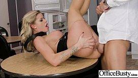 Hardcore Sex Tape In Office With Big Round Boobs Horny Girl Jessa Rhodes vid