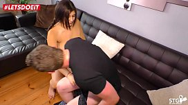 LETSDOEIT - German Chubby Teen Does Her First Sex Tape