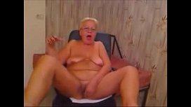 Perverted Granny Gets Nasty on her WebCam