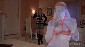 MOM'S HOLOGRAPH?!! It could never replace the warm touch of your real mother!!