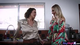 Real MILF woman takes a care about a best friends s.