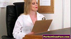 nurse seduces
