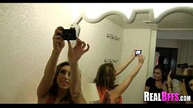 Girls night out leads to orgy 244