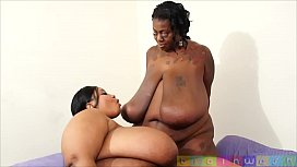 skinny brunette and 2 black bbw xxx video