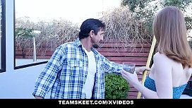 BadMILFS - Lucky Lawn Guy Fucks Hot Blonde And Redhead