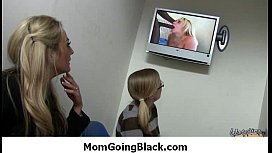 Black cock makes one mommy happy 29