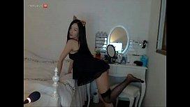 Korean Webcam Kitten Cosplay
