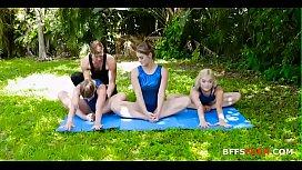 Gymnasdick Training- Lea Lee, Kenzie Madison &amp_ Katie Kush