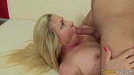 Mature woman Cala Craves seduces boy
