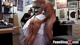 Here Cums the Big Booty Bride All Bitter and Desperate at the Pawn Shop xp