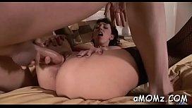 Stupefying Alia Janine fucks hard till climax