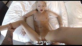 HD - POVD Petite Dakota Skye gets fucked hard in pov