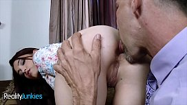 Small tit Gamer girl craves some big Dilf dick - Reality Junkies