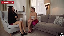LETSDOEIT - Lesbian Teen Is So horny That Seduces the Therapist (Tiffany Doll &amp_ Sicilia Model)