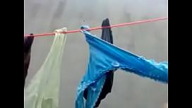 Las tangas de la vecina en tendedero, sexy, thongs.