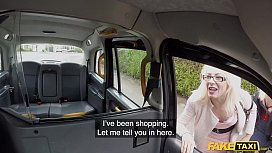 Fake Taxi He gets a rimjob from two tongues at the same time
