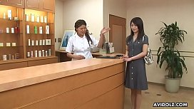 Hina Aizawa ended up creampied after her sensual and sexual massage