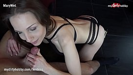 My Dirty Hobby - Sexy fit brunette gets fucked