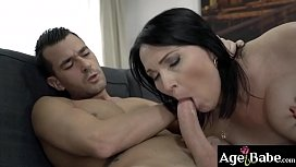 Lisa'_s desire on neighbor John fulfilled   when he pounded her in many ways